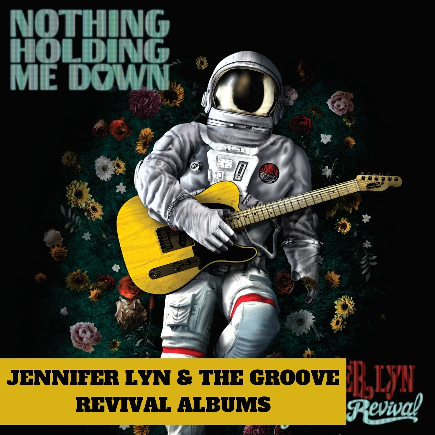 Jennifer Lyn & The Groove Revival Albums